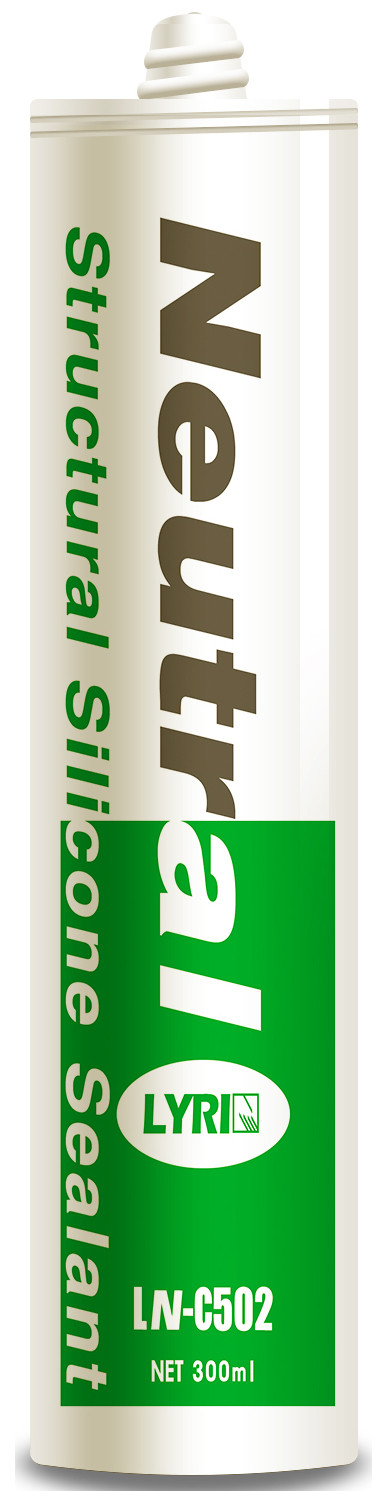300ml Exterior Waterproof Silicone Sealant , Professional Silicone Glass Sealant