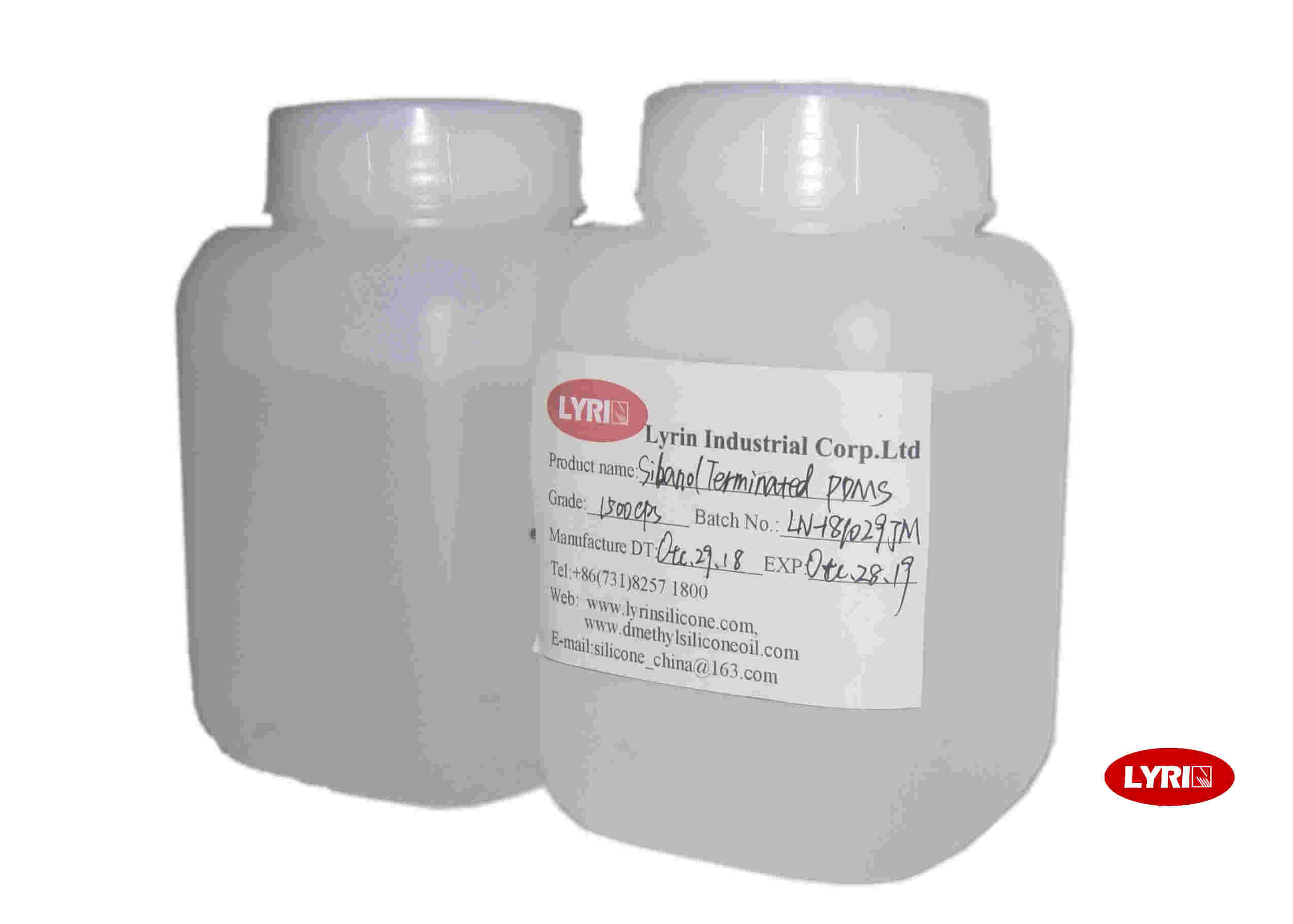 Low Weight Loss Pure Silicone Fluid For Lubricants , CAS No 63148-62-9
